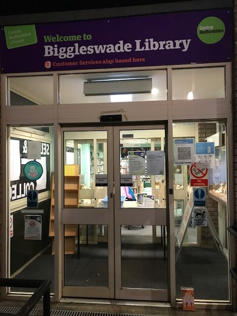 Day 40  Biggleswade Library